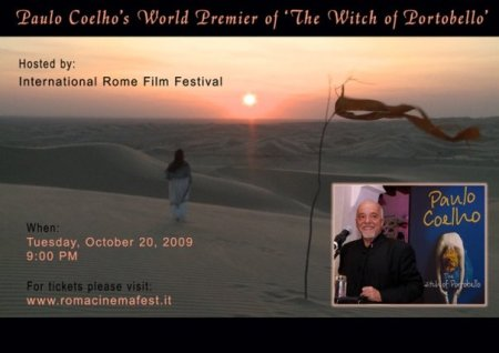 Paulo Coelho's World Premier of 'The Witch of Portobello'