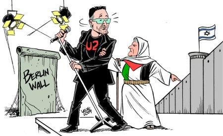 Past and present walls by Latuff