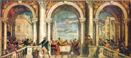Feast in the House of Levi by Paolo Veronese