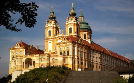 Melk Abbey in Austria