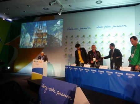 Rio 2016 press conference