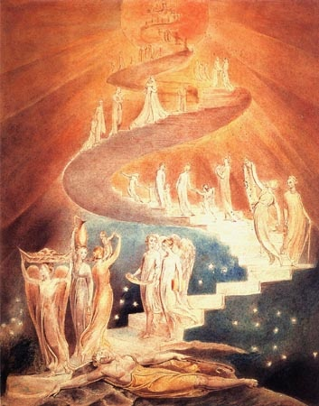 Jacob's Ladder - William Blake