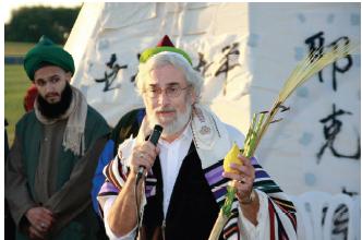 Rabbi and Sufi in harmony