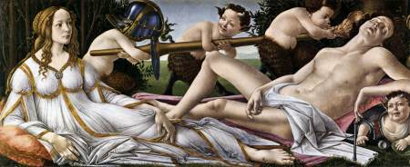 Venus and Mars - Botticelli