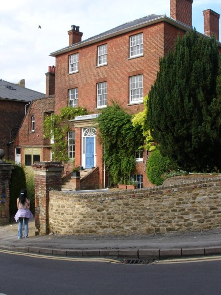 Chestnuts – home of Lewis Carroll and his sisters in Guildford