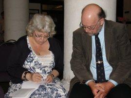 Mary Alexander and Edward Wakeling