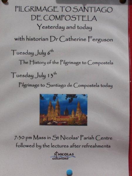 poster at St Nicolas