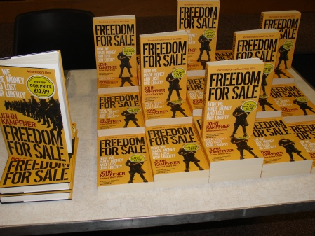 Freedom for Sale by John Kampfner