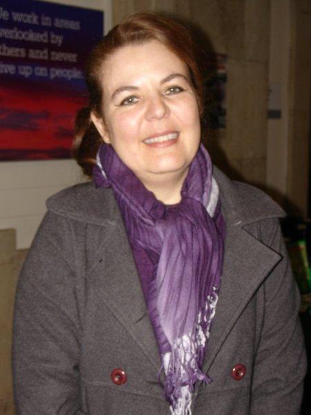 Bolivian Ambassador Maria de Souviron