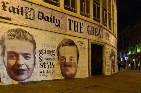 Anti-Government Mural In Shoreditch