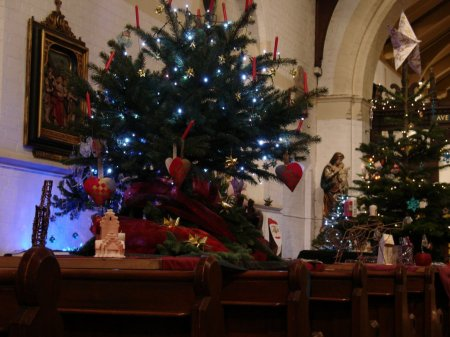 Christmas tree festival at St Mark's