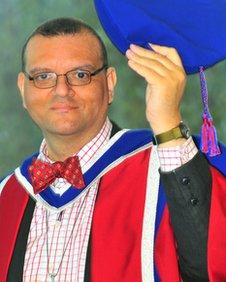 Canon Andrew White hon PhD
