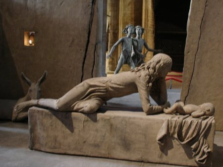 nativity at Lincoln Cathedral