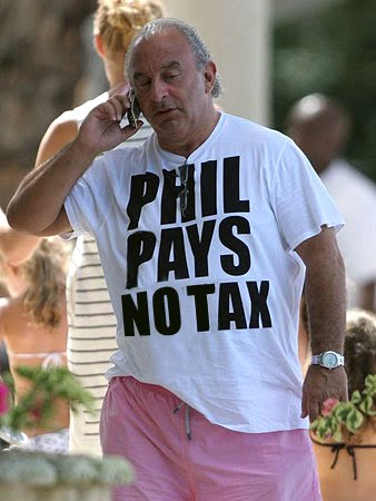 Phil Pays No Tax