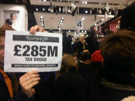 Topshop £285 million tax dodge