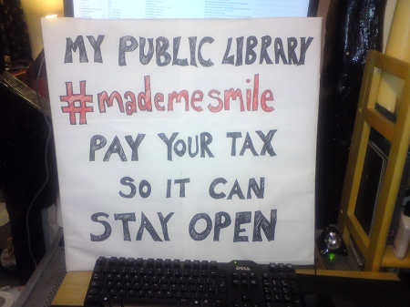 My Public Library Pay Your Tax So It Can Stay Open