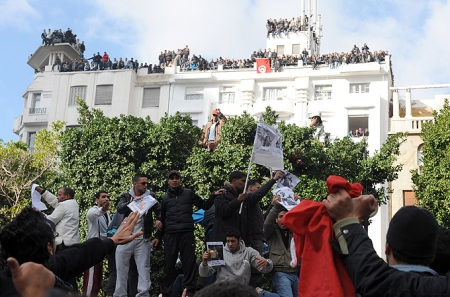 After 23 years of iron-fisted rule, Tunisia's president was driven from power by 29 days of violent protests