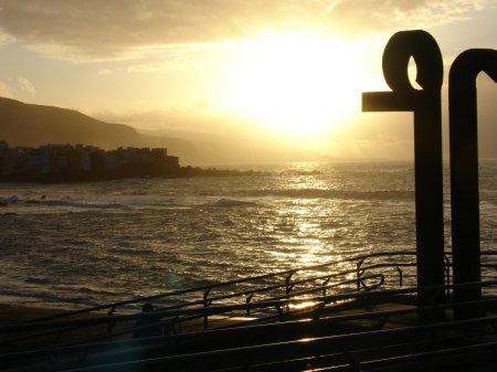 setting sun Tenerife