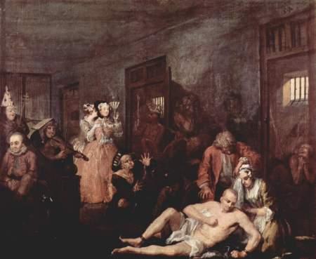 Bedlam - William Hogarth
