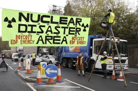 nuclear disaster area