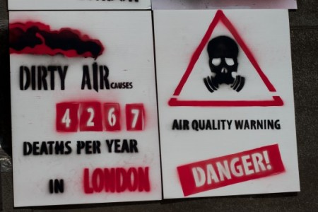 dirty air causes 4267 deaths a year in London