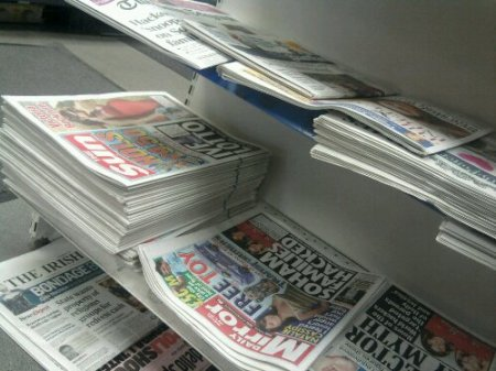 unsold copies of the Sun
