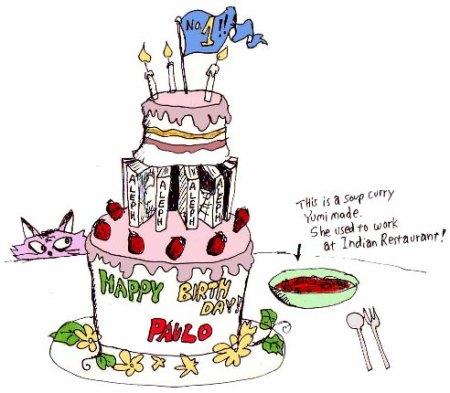 Happy Birthday Paulo - Ken Crane