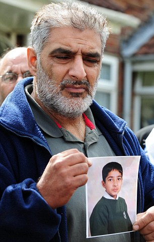 Tariq Jahan whose son was killed defending his community against looters