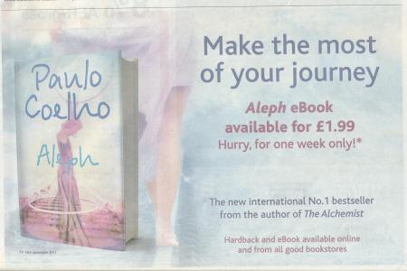 Make the most of your journey - half page advert page 21 Metro