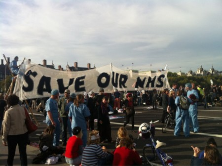 Save our NHS - Westminster Bridge
