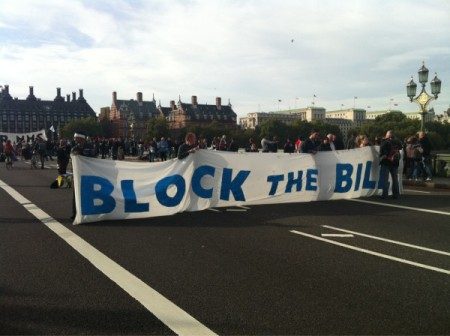 Block the Bill - Westminster Bridge