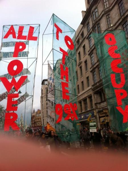 All Power to the 99% Occupy