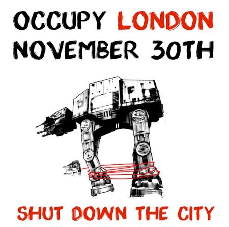 Occupy London Shut Down the City