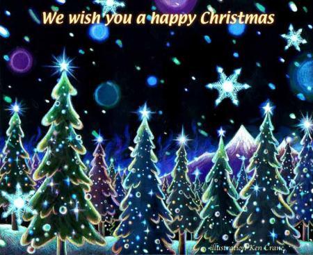 We wish you a happy Christmas - Ken Crane