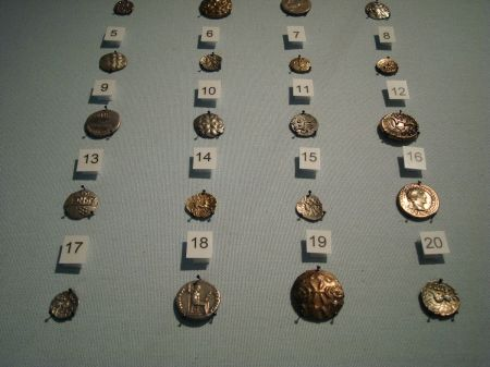 Hallaton Treasure gold and silver coins