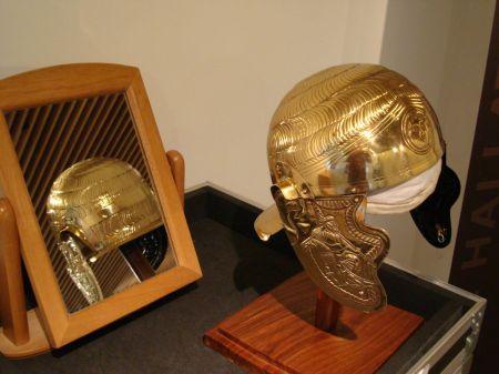 Hallaton Treasure Roman cavalry helmet