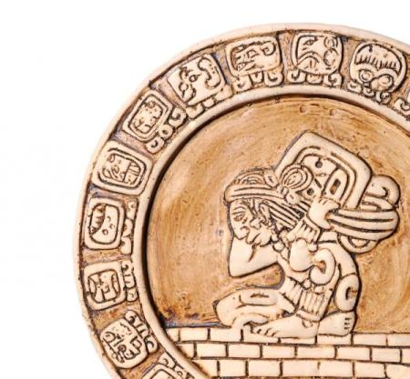 A wheel in the Maya Calendar