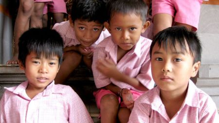 orphans in Bali