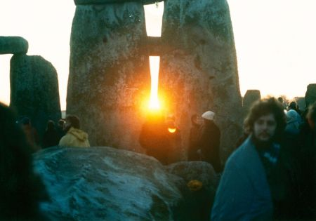 Sunrise Stonehenge Winter Solstice