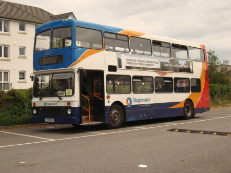 clapped-out bus replacement rail service