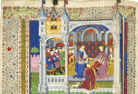 A wedding present for Margaret of Anjou and Henry VI