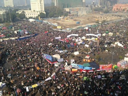 Tahrir Square 10am this morning