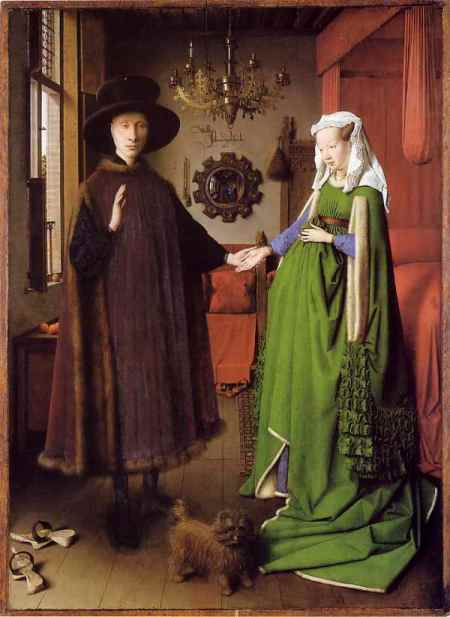The Arnolfini Portrait - Van Eyck