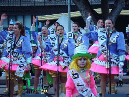 Puerto de la Cruz, música en el fin de La Carnival