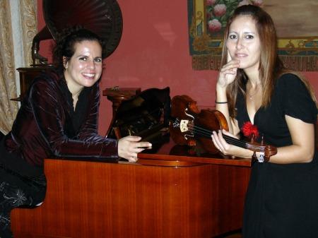 Vanessa Herrera (violin) Yaiza Peña (piano)
