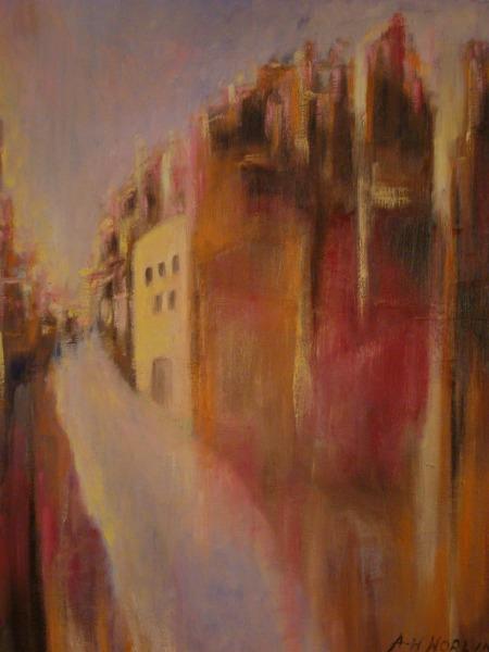 Exposición de arte en Turistkyrka en Puerto de la Cruz