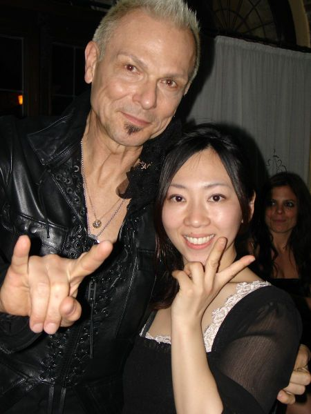 Rudolf Schenker and Mio Baba