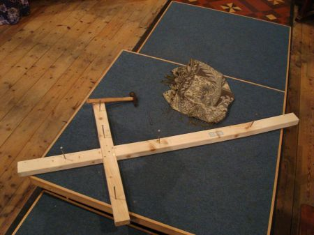 A cross of nails