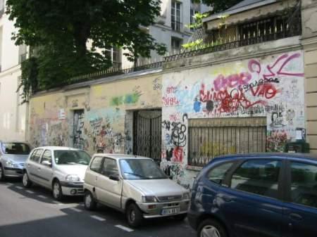 Maison Serge Gainsbourg on the rue de Verneuil in Paris
