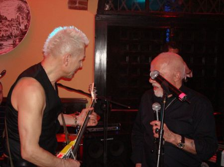 Rudolf Schenker and Paulo Coelho St Joseph's Day party 2012
